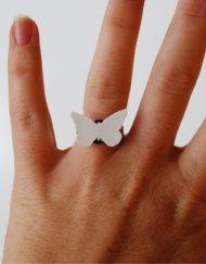 Fjäril : ring