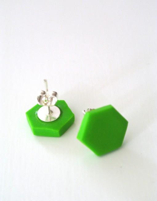 Hexagon_ljusgrön