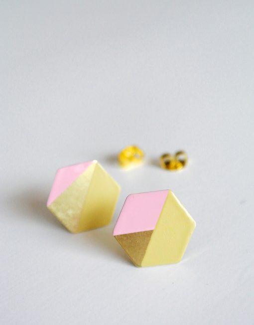 Hexagon_brasspinkyellow